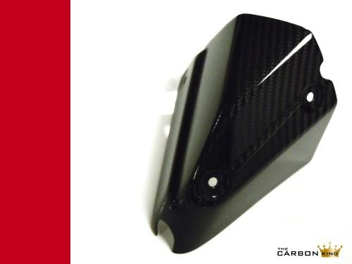 DUCATI XDIAVEL CARBON FIBRE EXHAUST HEAT SHIELD IN TWILL WEAVE THE CARBON KING