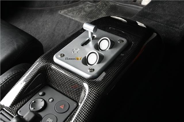 FERRARI 360 MODENA SPIDER F1 (F1 ONLY) CARBON FIBRE CENTRE CONSOLE TRIM FIBER