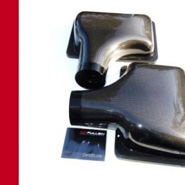 FERRARI 360 MODENA/SPIDER CARBON FIBRE AIR BOX COVERS (PAIR) FILTERS MANUAL F1