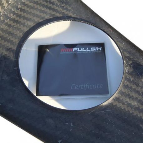 FERRARI 360 MODENA SPIDER CARBON FIBRE LOWER DOOR PANELS SPEAKER HOUSING TRAY
