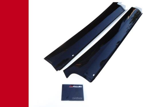 FERRARI 360 MODENA SPIDER F1 MANUAL DOOR ENTRY SILL COVERS IN CARBON FIBRE FIBER