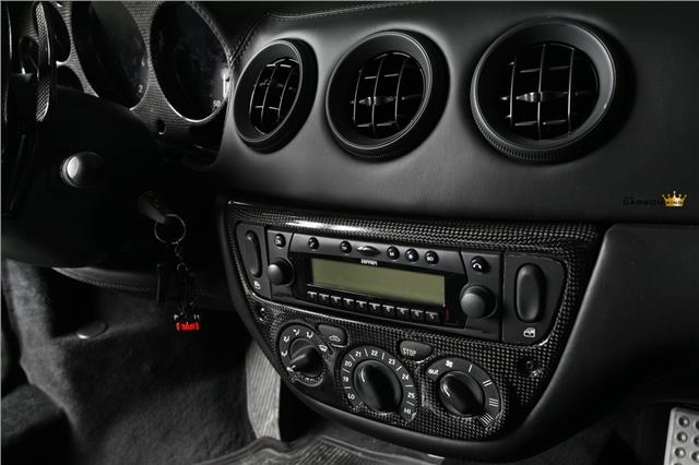 FERRARI 360 MODENA SPIDER F1 MANUAL CARBON RADIO HEATER SURROUND FIBRE FIBER