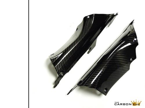 HONDA CBR1000RR 2012 - 16 CARBON FIBRE AIR INTAKE COVERS IN TWILL WEAVE SP BLADE