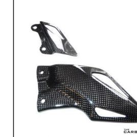THE CARBON KING CARBON FIBRE RIDERS HEEL GUARDS HONDA CBR1000RR 2008-2017 FIBRE
