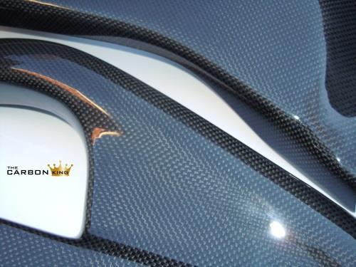 HONDA CBR1000RR 2008-2013 CARBON FIBRE SWINGARM COVER SET SWING ARM FIBRE PLAIN