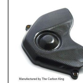 THE CARBON KING SPROCKET COVER HONDA CBR 600 RR 2007-2011 FIBER FIBRE CBR600RR