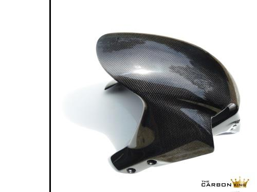 THE CARBON KING HONDA CBR600RR 2005-06 CARBON FIBRE FRONT MUDGUARD FENDER 600RR