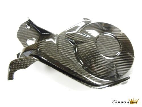 HONDA CBR1000RR 2012 13 14 CARBON FIBRE NEAR SIDE ENGINE COVER IN TWILL WEAVE