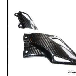 THE CARBON KING TWILL CARBON FIBRE HEEL GUARDS HONDA CBR1000RR 2008-2017 FIBER