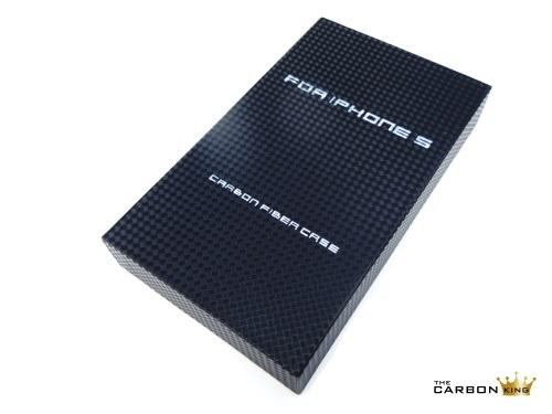 THE CARBON KING iPHONE 5 CASE IN ALUTEXT ALUMINIUM WEAVE WITH PRESENTATION BOX