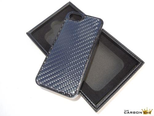 THE CARBON KING iPHONE 5 CARBON CASE IN 3K TWILL WEAVE WITH PRESENTATION BOX