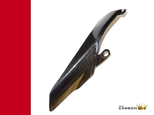 THE CARBON KING 1199 PANIGALE CARBON FIBRE CHAIN GUARD DUCATI FIBER