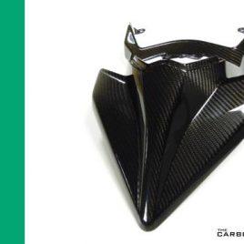 KAWASAKI H2 & H2R CARBON FIBRE MONO SEAT TAIL UNIT IN TWILL WEAVE FIBER