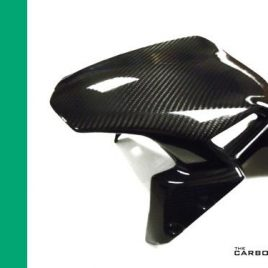 KAWASAKI Z900 2017 ONWARDS CARBON FIBRE FRONT FENDER MUDGUARD TWILL GLOSS WEAVE