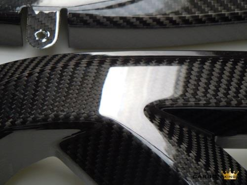 KAWASAKI ZX10R 2016 TO 17 CARBON FIBRE SWINGARM COVERS SWING ARM SET FIBER