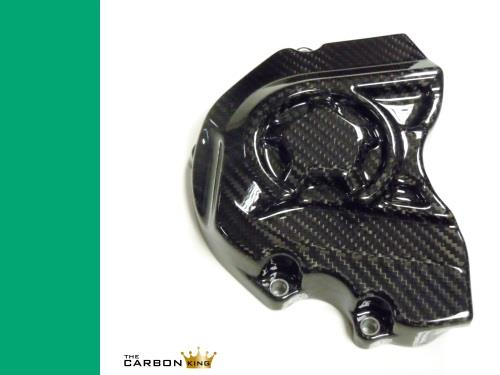 KAWASAKI ZX10R 2016 CARBON FIBRE SPROCKET COVER IN TWILL WEAVE FIBER CARBON KING