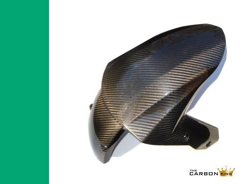 THE CARBON KING KAWASAKI ZX10R 2008 09 10 CARBON FIBRE FRONT MUDGUARD FENDER FIB