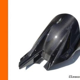 KTM SUPERDUKE 1290 R CARBON FIBRE REAR HUGGER IN TWILL WEAVE MUDGUARD DUKE