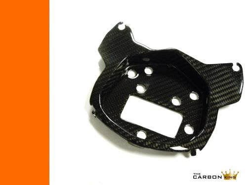 KTM DUKE 390 CARBON FIBRE DASH SPEEDO MOUNT PLATE FIBER