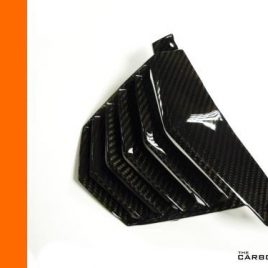 KTM DUKE 125 200 390 2011-16 CARBON FIBRE VEE PANEL BELLY PAN CENTRE IN TWILL
