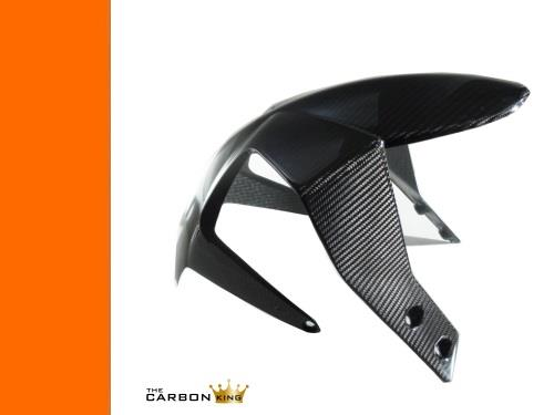 THE CARBON KING KTM DUKE 125 200 390 CARBON FIBRE FRONT MUDGUARD FENDER FIBER