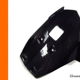KTM DUKE 125 200 390 CARBON FIBRE BELLY PAN IN TWILL WEAVE 2011-16 FIBER
