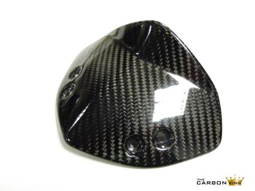 KTM DUKE 125 200 390 CARBON FIBRE FLY SCREEN IN TWILL WEAVE WINDSCREEN 2011-16