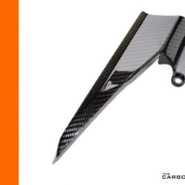THE CARBON KING KTM RC8 & RC8R CARBON FIBRE CHAIN GUARD FIBER