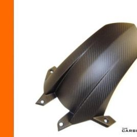 THE CARBON KING KTM RC8 & RC8R CARBON FIBRE REAR MUDGUARD HUGGER FENDER 3K FIBER