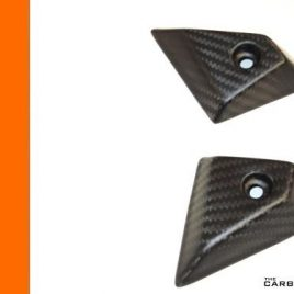 KTM RC8 MATT TWILL CARBON FIBRE PETROL TANK SIDE PROTECTORS GUARDS CARBON KING