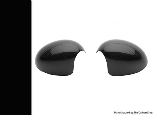 REAL CARBON FIBRE MINI WING MIRROR COVERS (PAIR) LIKE JCW SEE DESCRIPTION RE FIT