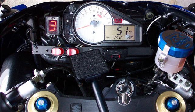 DATATOOL MOTORCYCLE DIGITAL GEAR INDICATOR DIGI MOTORBIKE DIGIGEAR SELF FIT