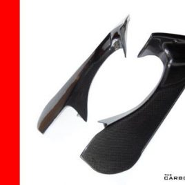 TCK MV AGUSTA F4 2010 TO 15 CARBON FIBRE AIR DUCT COVERS FIBRE INTAKE TUBE FIBER