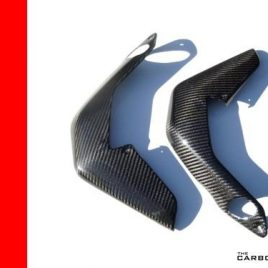 MV AGUSTA BRUTALE 800 DRAGSTER CARBON FIBRE RADIATOR COVERS IN TWILL WEAVE 675