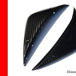 MV AGUSTA F4 2010 ON CARBON LOWER TANK PANELS - AIR BOX SIDE COVERS FIBER FIBRE
