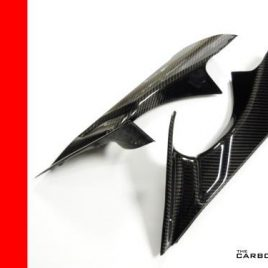 MV AGUSTA F4 2010 TO 15 CARBON FIBRE AIR DUCT COVERS FIBRE INTAKE TUBE FIBER