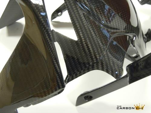 THE CARBON KING MV AGUSTA F4 2010 ONWARDS FRONT MUDGUARD CARBON FIBER FENDER
