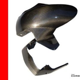 THE CARBON KING MV AGUSTA F4 & BRUTALE 99-09 FRONT MUDGUARD FIBER FIBRE FENDER