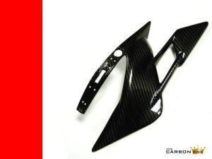 MV AGUSTA F4 & BRUTALE 2010 ONWARDS CARBON FIBRE LOWER CHAIN GUARD SWINGARM