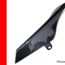 THE CARBON KING MV AGUSTA F4 1000 CARBON FIBRE UPPER CHAIN GUARD 2010 -15 FIBER