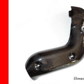 THE CARBON KING MV AGUSTA F4 1000 CARBON FIBRE EXHAUST SIDE HEAT SHIELD 2010-15