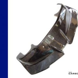 THE CARBON KING BMW K1300S CARBON FIBRE INSTRUMENT COVER MADE IN 3K PLAIN FIBER