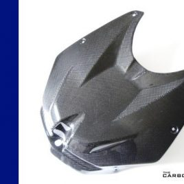 BMW S1000RR 2009-11 CARBON FIBRE PETROL TANK COVER HP4 FIBER 3K GUARD PLAIN