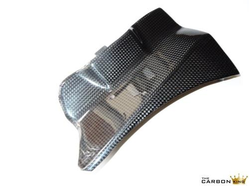 THE CARBON KING DUCATI 1199 PANIGALE CARBON FIBRE BATTERY COVER IN PLAIN WEAVE