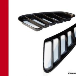 THE CARBON KING PORSCHE BOXSTER 987 AIR INTAKE GRILLS (PAIR) FIBRE FIBER TWILL