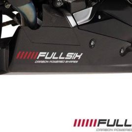 YAMAHA R1 2015 TO 19 RACING CARBON FIBRE BELLY PAN BY FULLSIX IN TWILL WEAVE