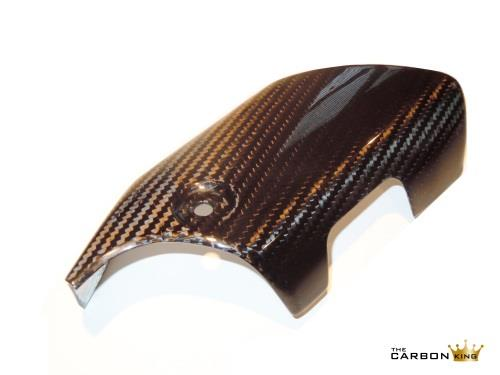 YAMAHA R1 2015 ON CARBON FIBRE LOWER EXHAUST HEAT SHIELD IN TWILL WEAVE FIBER