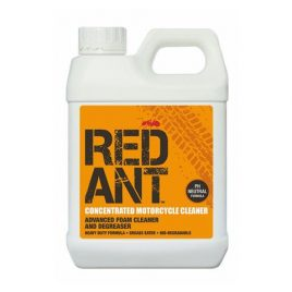 RED ANT MOTORBIKE CONCENTRATED CLEANER AND DEGREASER ADVANCED FOAM FORMULA 1 LTR