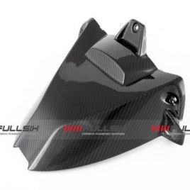 BMW S1000RR/S1000R CARBON FIBRE REAR HUGGER (WITH NO HOLE) BY FULLSIX IN TWILL WEAVE