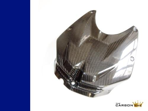 BMW S1000RR 2009-2011 CARBON FIBRE PETROL TANK COVER HP4 FIBER 3K CARBON KING